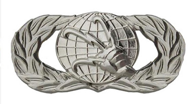 Air Force Badge: Communications and Information - regulation size