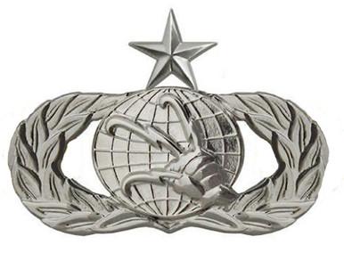 Air Force Badge: Communications: Senior - regulation size