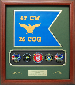 26th Cyberspace Operations Group Shadow Box Display