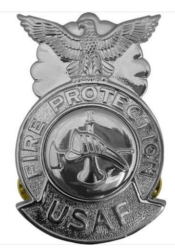 Air Force Badge Fire Protection - regulation size