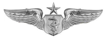 Air Force Badge: Flight Nurse: Senior - regulation size
