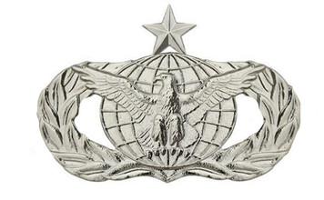 Air Force Badge: Force Protection: Senior - regulation size