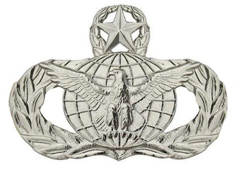 Air Force Badge: Force Protection: Master - regulation size