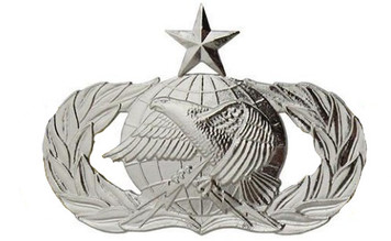 Air Force Badge: Logistics: Senior - regulation size