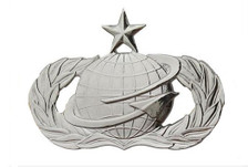 Air Force Badge: Manpower and Personnel: Senior