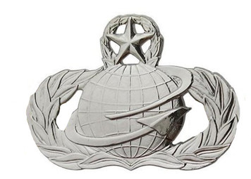 Air Force Badge: Manpower and Personnel: Master