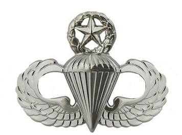 Air Force Badge: Master Parachutist - regulation size