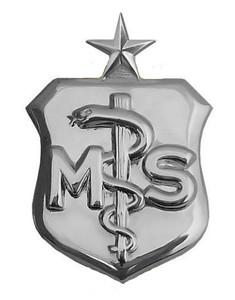 Air Force Badge: Medical Service: Senior