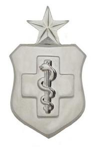 Air Force Badge: Medical Technician: Senior