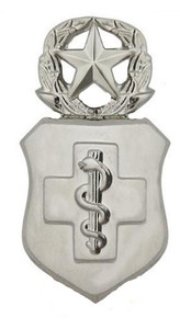 Air Force Badge: Medical Technician: Master