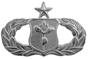 Air Force Badge: Weather Operations: Senior - regulation size