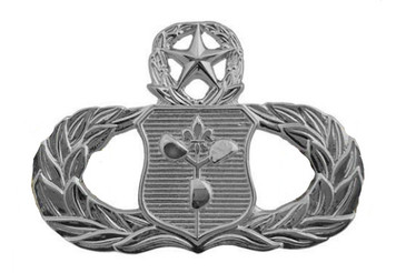 Air Force Badge: Weather Operations: Master - regulation size