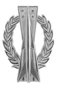 Air Force Badge: Missile Operator - regulation size