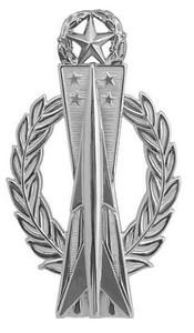 Air Force Badge: Missile Operator: Master - regulation size