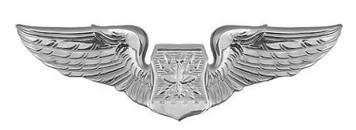 Air Force Badge: Navigator - regulation size