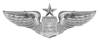 Air Force Badge: Navigator: Senior - regulation size