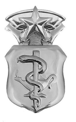 Air Force Badge: Nurse: Chief