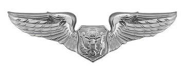 Air Force Badge: Officer Aircrew - regulation size