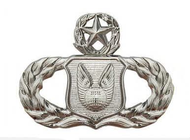 Air Force Badge: Operations Support: Master - regulation size