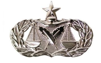 Air Force Badge: Paralegal: Senior - regulation size