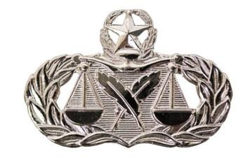 Air Force Badge: Paralegal: Master - regulation size