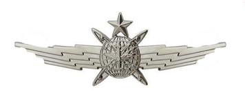 Air Force Badge: Senior Cyberspace Operator: Regulation size