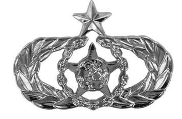 Air Force Badge: Senior Safety - regulation size