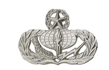 Air Force Badge: Services: Master - regulation size