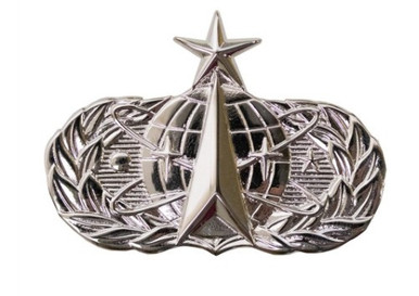 Air Force Badge: Space and Missile: Senior - regulation size