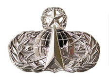 Air Force Badge: Space and Missile: Master - regulation size