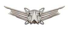 Air Force and Army Badge: Space Basic- regulation size
