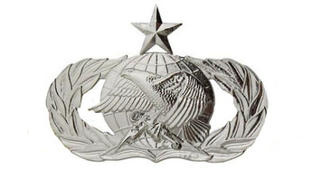 Air Force Badge: Supply Fuels: Senior - regulation size
