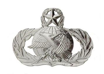 Air Force Badge: Supply Fuels: Master - regulation size