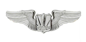 Air Force Badge: Unmanned Aircraft Systems - Regulation size