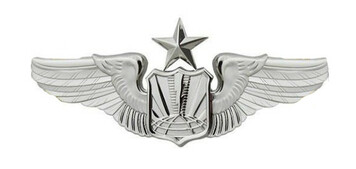 Air Force Badge: Unmanned Aircraft Systems: Senior - Regulation size