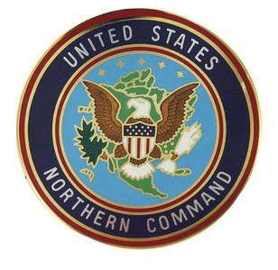 Identification Badge United States Northern Command: Large