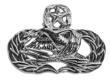 Air Force Badge: Ground Radar Airfield Systems Master