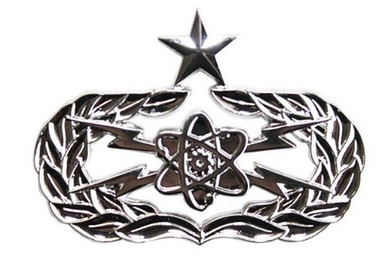 Air Force Badge: Scientific Applications Specialist - Senior