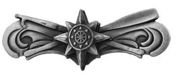 Coast Guard Badge: Boat Force Operations - metal