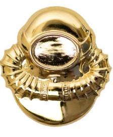 Coast Guard Badge: Scuba Diver Officer - regulation size