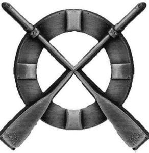 Coast Guard Badge: Surfman - regulation size