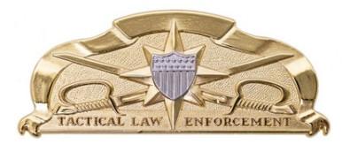 Coast Guard Badge: Tactical Law Enforcement - regulation size