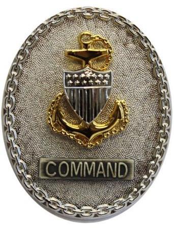Coast Guard Badge: Enlisted Advisor E7 Command - regulation size