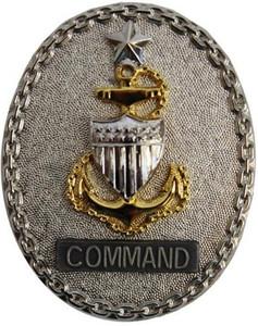 Coast Guard Badge: Enlisted Advisor E8 Command: Senior - regulation size