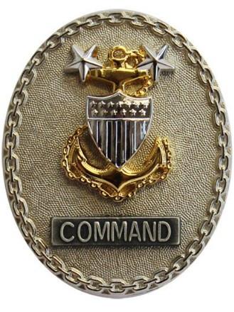 Coast Guard Badge: Enlisted Advisor E9 Command - regulation size