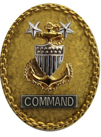 Coast Guard Badge: Enlisted Advisor E9 Command: Senior - regulation size