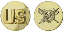Army Enlisted Branch of Service Collar Device: U.S. and Inspector General