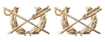Army Officer Branch of Service Collar Device: Judge Advocate