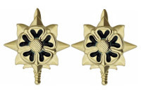 Army Officer Branch of Service Collar Device: Military Intelligence