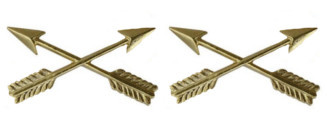 Army Officer Branch of Service Collar Device: Special Forces